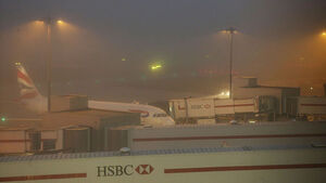 Freezing fog has lead to several flights between Ireland and London being cancelled