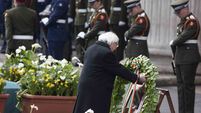 Latest: President lays wreath at GPO to commemorate Easter Rising