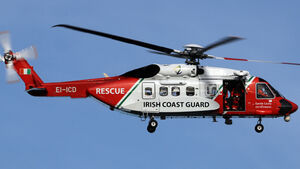 Injured fisherman airlifted from trawler off coast of Cork