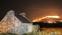 Irish Wildlife Trust highlight 15 'illegal' wild fires over the weekend, eight in conservation areas