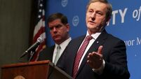 Enda Kenny visits US - Day Two