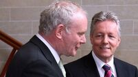Peter Robinson: Martin McGuinness' influence 'will be greatly missed'