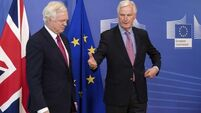 EU's Brexit Negotiator Michel Barnier admits 'awful lot of work to do' on issue of Irish border