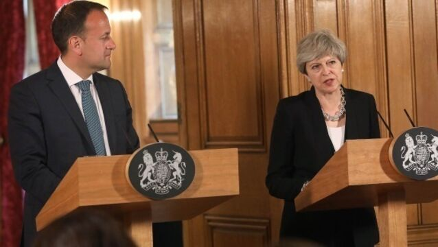 Theresa May reassures Leo Varadkar proposed DUP deal will not undermine Good Friday Agreement