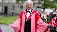 Rock star turned Doctor: Bob Geldof awarded honorary doctorate at Trinity