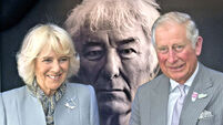 The Prince of Wales and The Duchess of Cornwall visited Irish poet Seamus Heaney's  Home Place  Northern Ireland
