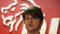 Referendum on a united Ireland will not happen, says Arlene Foster