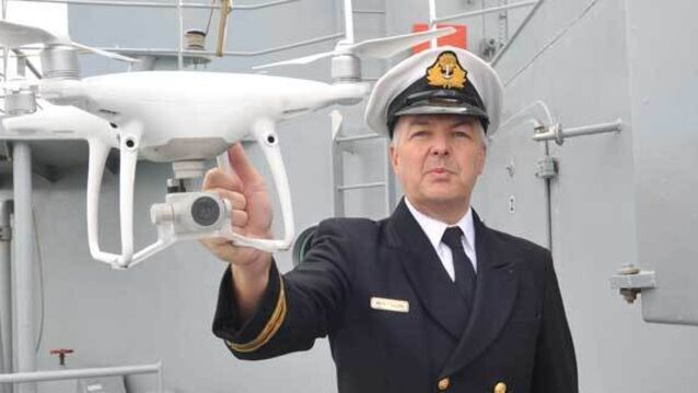 Navy to use more drones after catching smuggler pretending to be refugee