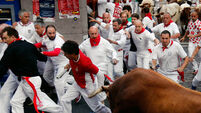 Irish man among those injured in Pamplona bull run