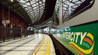 Increased services on Irish rail for Christmas