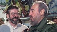 Gerry Adams recalls talk with Fidel Castro