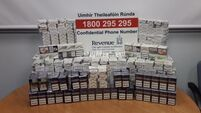 21,000 cigarettes seized in Cork city