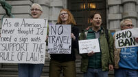 Donald Trump's revised travel ban comes into force amid new legal challenges