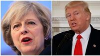 White House denies Trump raised fears with May about state visit protests