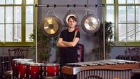 Percussion is a big hit with Cork musician Alex Petcu