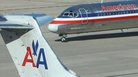 American Airlines plane removed from mud after pilot abandons take-off