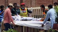 Pakistan PM visits victims as tanker blaze death toll rises to 157