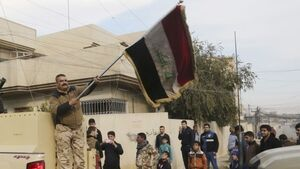 Iraqi troops enter Mosque in Mosul where ISIS declared caliphate