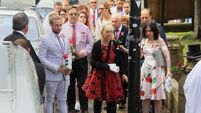 Manchester arena bombing victim Saffie Roussos bid farewell by tearful mourners