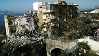 Latest: Hunt for families after Italian apartment building collapses