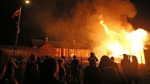 British Government rules out compensating residents after Loyalist bonfire damage