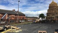 Homes boarded up at twelfth of July bonfire sites due to safety worries
