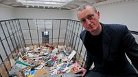 Older, wiser, and still decluttering: Artist Michael Landy on his latest project