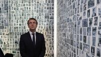 Emmanuel Macron honours Holocaust victims and vows 'never again'