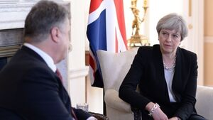 LATEST: UK ready to support Ukraine over threat from Russia says Theresa May