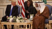 Donald Trump lauds 'tremendous' trip to Saudi Arabia after signing $110bn arms deal