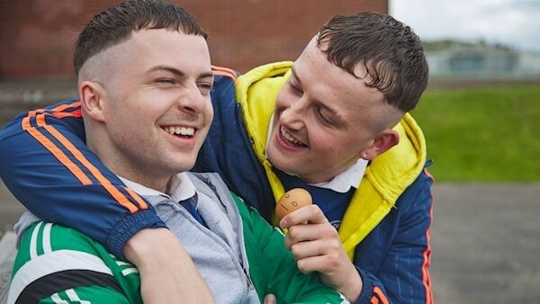 Alex Murphy (Conor) and Chris Walley (Jock) in a scene from the new series which begins on RTÉ2 next week.
