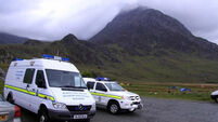 Man walking with daughter in Wales dies after mountain plunge