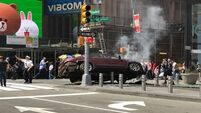 Woman, 18, killed as car mows down pedestrians in New York's Times Square