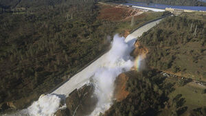 Up to 200,000 Californians evacuated over damaged dam have been told they can go home