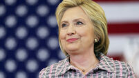 The future is female, says Hillary Clinton