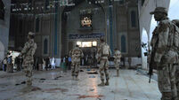 75 killed in suicide bombing at Pakistan shrine