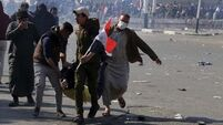 Rockets hit Baghdad's Green Zone after anti-government protests