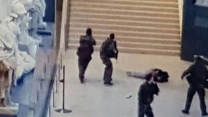 Latest: French authorities identify Louvre attacker