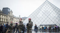 Louvre museum reopens after shooting of machete attacker