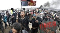 Court bid to halt Dakota pipeline work rejected as Native Americans protest in Washington