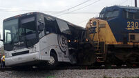 Four killed as freight train collides with coach in Mississippi