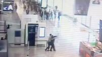 Video captures terrifying moment Paris airport attacker grabbed soldier