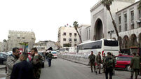 Latest: 30 killed in Damascus suicide bombing as Syrians mark sixth anniversary civil war
