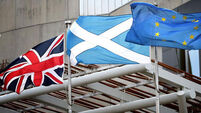 Support for Scottish independence lower than three years ago, says poll