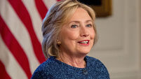 Hillary Clinton attacks Donald Trump's proposed international aid cuts