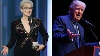Donald Trump hits back at 'over-rated' Meryl Streep calling her a 'Hillary flunky who lost big'