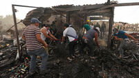 Nine dead and 70 hurt in blast at Mexican fireworks market