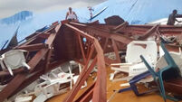 160 dead after church roof collapses on worshippers