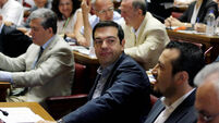 Greece passes 'final exit' budget from financial crisis