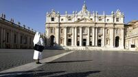 Vatican lets homeless sleep in church amid cold
